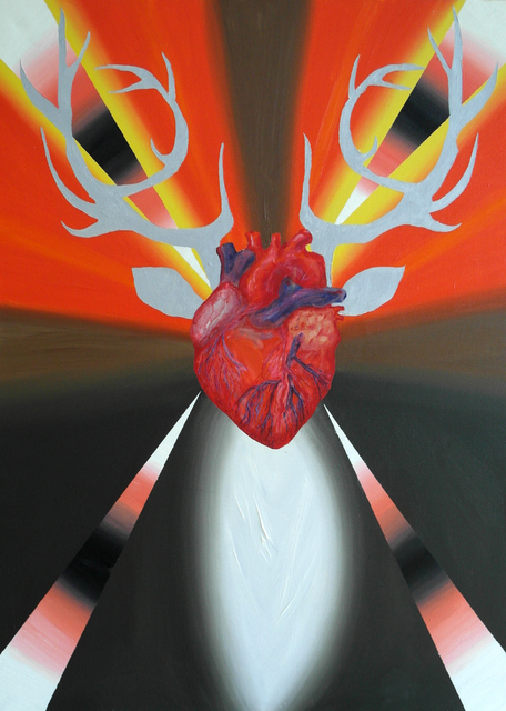 ", '""Deer Heart"",' 2017, Krokin Gallery"