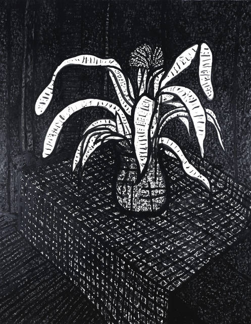 Joseph Glasco, 'Still Life, Plant on Table', 1975, WOLFS
