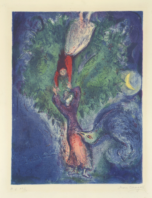 , 'The Tales from the Arabian Nights - No 6. She Came Down from the Tree. ,' 1948, William Weston Gallery Ltd.