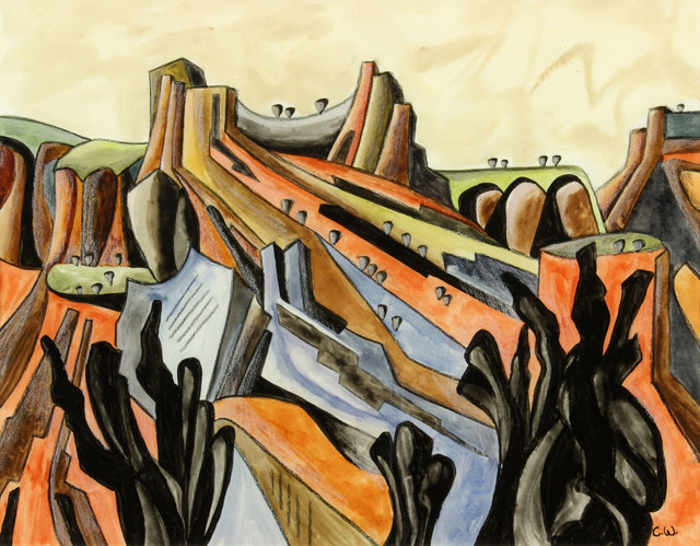 , 'Untitled NM Landscape,' , Addison Rowe Gallery