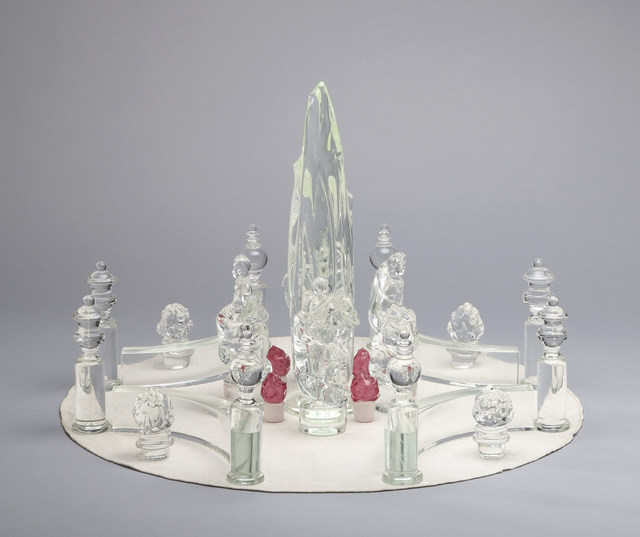 Tiffany & Company, 'Crystal Cypress Tree', 1961, Cooper Hewitt, Smithsonian Design Museum