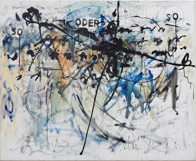 , 'So oder So / Schräg im Raum,' 1959, Galerie Ernst Hilger