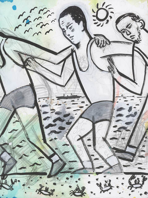 , 'Beach Buds,' 2015, Sean Horton (presents)