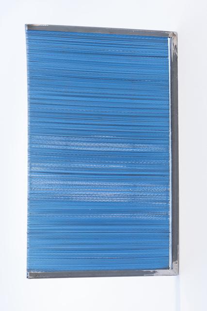 , 'Serras (blue),' 2016, LAMB Arts