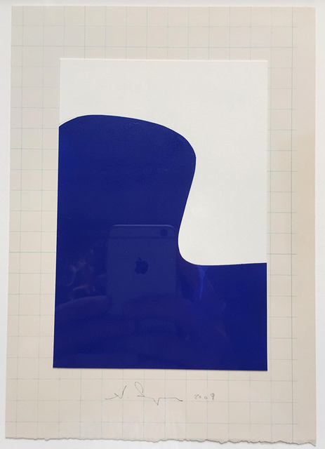 , 'Jacobsen Chair (blue on graph) ,' 2009, HATHAWAY | Contemporary Gallery