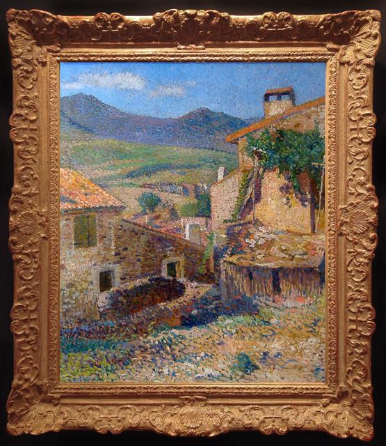 , 'Rue et Paysage de Collioure ensoleille,' ca. 1923, Trinity House Paintings