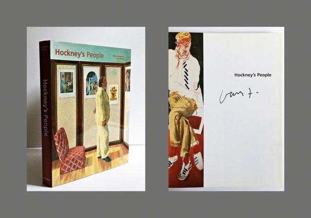 David Hockney, 'Hockney's People (Hand Signed)', 2003, Ephemera or Merchandise, Hardback Monograph. Hand Signed by David Hockney., Alpha 137 Gallery Gallery Auction