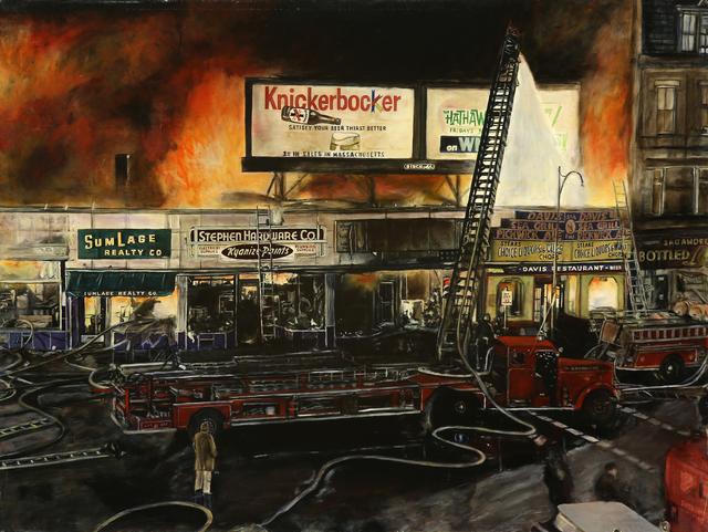 , 'Brookline Fire,' 2000, DETOUR Gallery