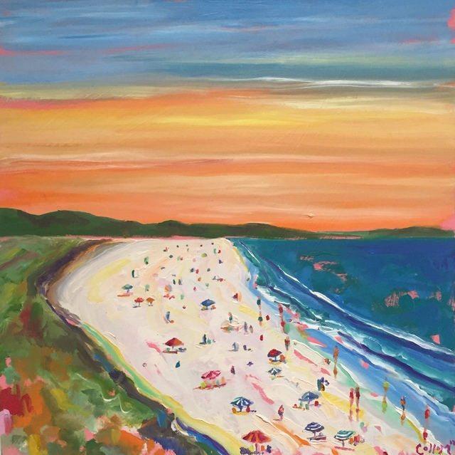 , 'Sunset Beach 2,' 2018, Tim Collom Gallery