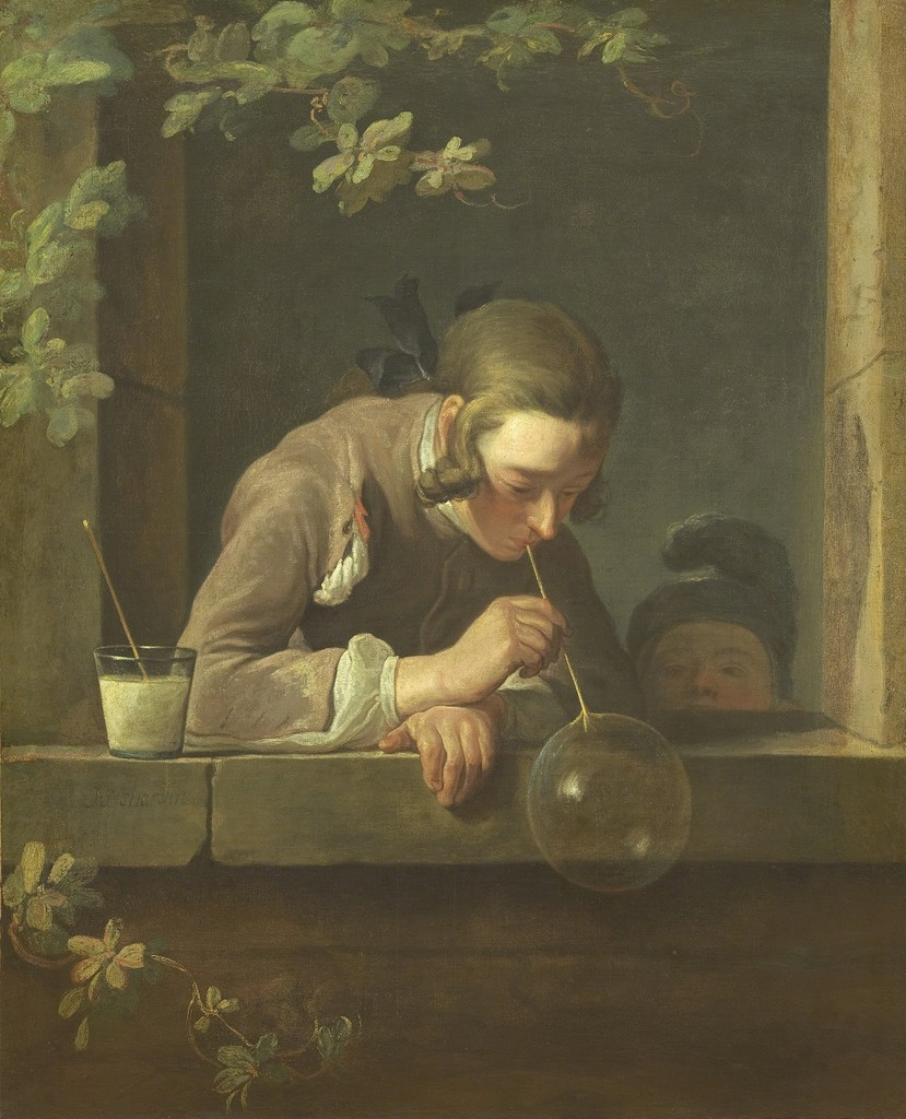 Jean-Siméon Chardin, 'Soap Bubbles,' 1733-1734, National Gallery of Art, Washington, D.C.