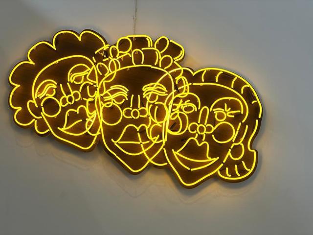 Tschabalala Self, 'Wash N' Set [Yellow]', 2019, Pilar Corrias Gallery