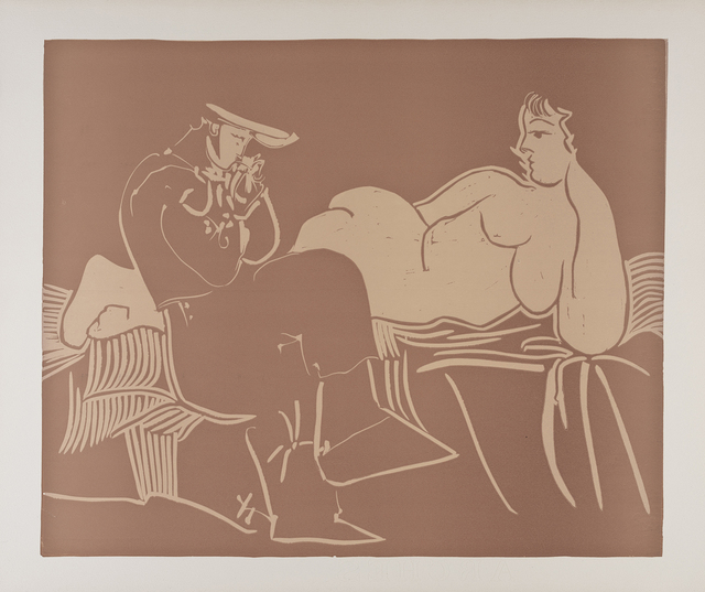 , 'L'Aubade, avec Femme Accoudée,' 1959, Frederick Mulder