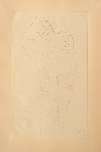 , 'Wiblicher Akt, stehend,' 1919, Tanya Baxter Contemporary