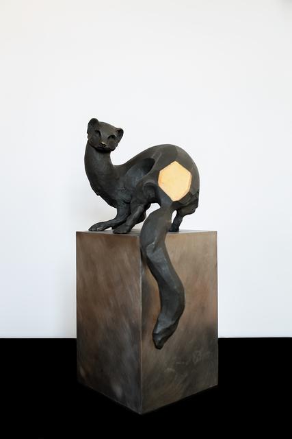 , 'Comadreja chica (bronce),' 2017, Terreno Baldío