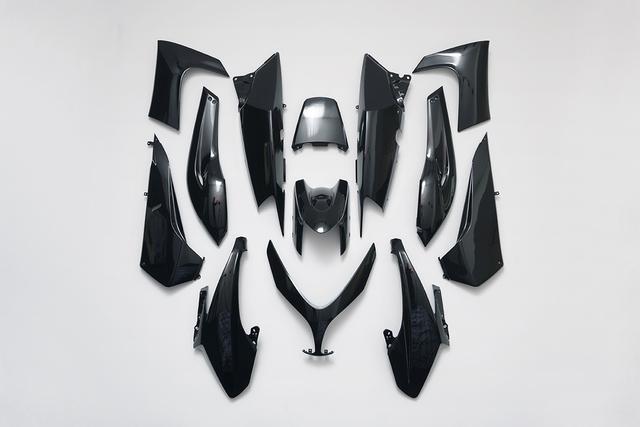 , 'Black Armor,' 2017, 22,48m2