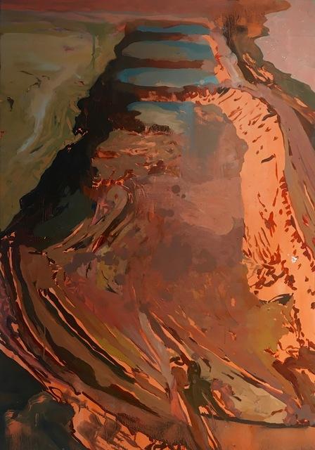 , 'Boden wirbelt in den Händen der Akrobaten,' 2016, Galerie SOON