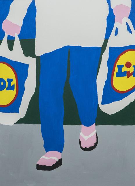 , 'LIDL customer,' 2017, Ruttkowski;68