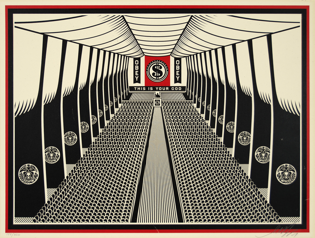 Shepard Fairey, 'This Is Your Church', 2007, Heather James Fine Art Gallery Auction