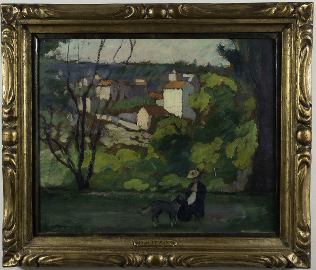 Henri Ottman, 'Paysage a Vernon', ca. 1920, Lang Fine Art