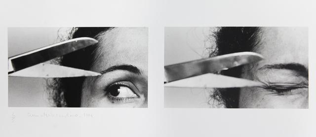 , 'X II Untitled from Vida Afora series - Photopoemaction,' 1974-2010, Galleria Raffaella Cortese