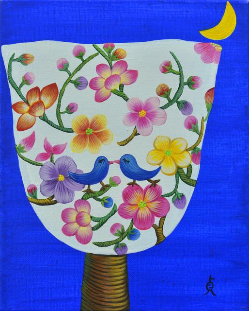 , 'Happy tree1, 오랜여행-해피트리1, ,' 2016, Gallery Jari Art