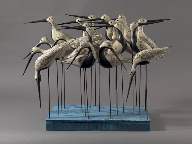 , 'Twenty Shorebirds,' , Dowling Walsh
