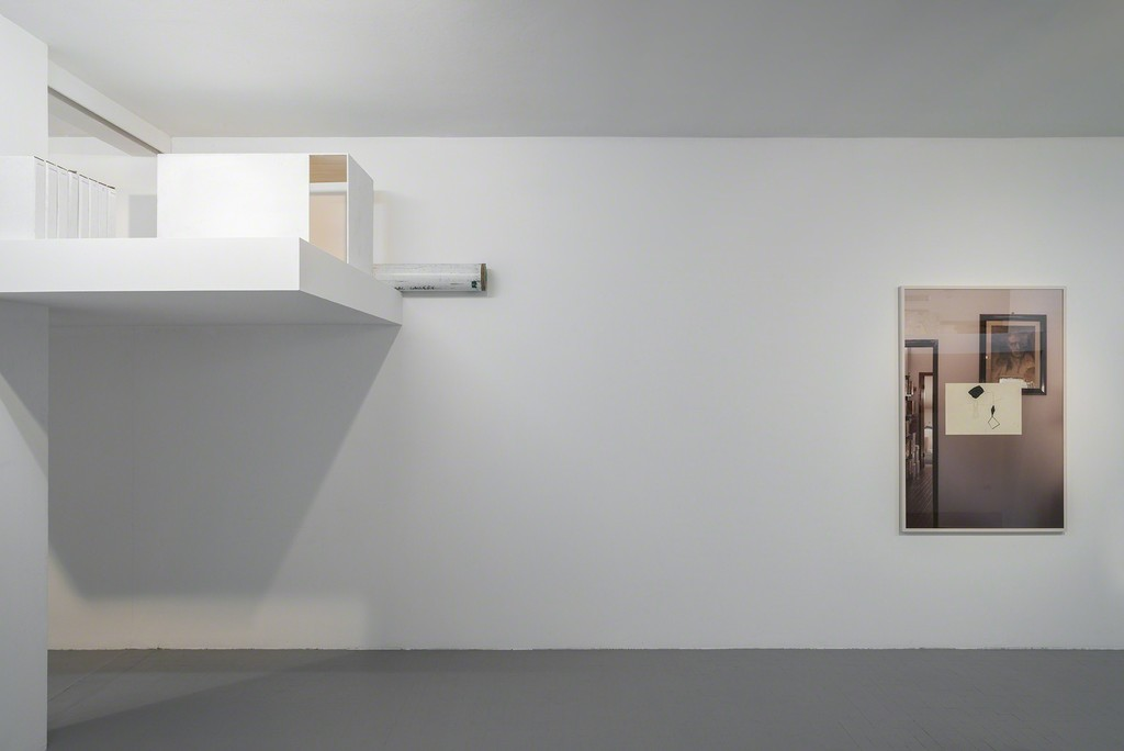 David Maljkovic, installation view at Galleria Minini, 2015, first room