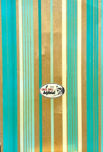 Peter Dayton, 'Greg Noll', 2010, Mixed Media, Oil, acrylic, stain, resin, decal on panel, ARC Fine Art LLC