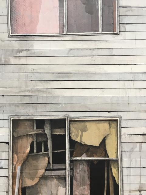 , 'Window Study (yellow/pink),' 2017, BoxHeart