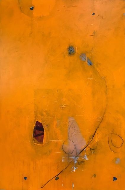 , 'Crimson Enter,' 2019, ÆRENA Galleries and Gardens