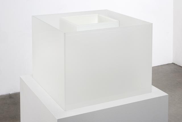, 'Untitled Maquette (True Fog / Optimum White),' 2018, Anthony Meier Fine Arts