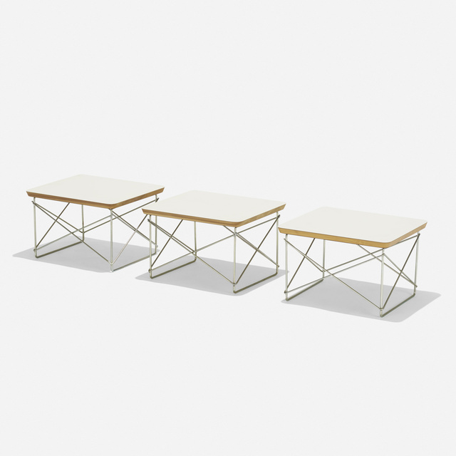 Charles and Ray Eames, 'LTRs, set of three', 1950, Wright