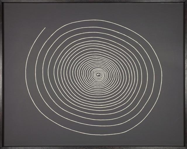 , 'Geldspirale II - Johannes Simmel - Die Philosophie des Geldes,' 2014, Mario Mauroner Contemporary Art Salzburg-Vienna