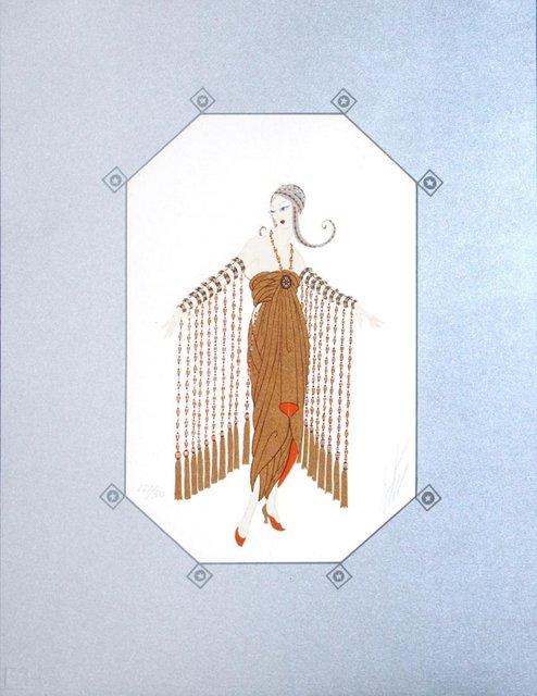 Erté (Romain de Tirtoff), 'Zobeide', 1982, Print, Serigraph, Leviton Fine Art