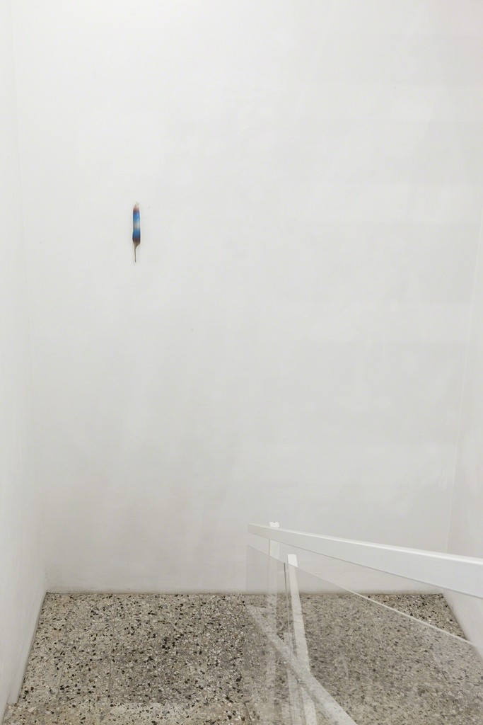 Installation view Anders Clausen at Galerie Rüdiger Schöttle, 2016.
