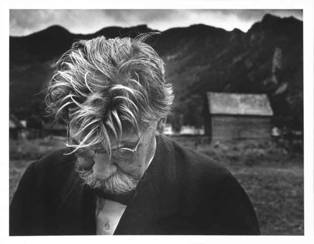 , 'Albert Schweitzer, Aspen, Colorado,' 1949, Etherton Gallery