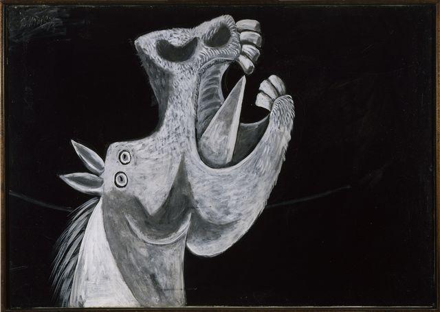 , 'Etude pour Guernica (Tête de cheval),' 1937, Musée Picasso Paris