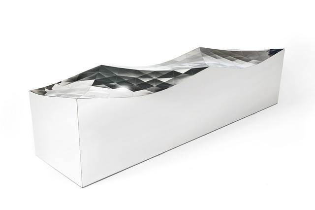 , 'Wave Bench (SQN1-M) in Stainless Steel,' 2011, Gallery ALL