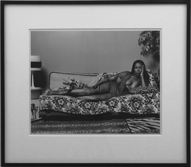 Mickalene Thomas, 'Madame Mama Bush in Black and White', 2007, Richard Levy Gallery
