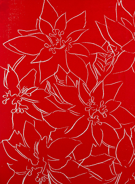 Andy Warhol, 'Poinsettia', 1983, David Benrimon Fine Art