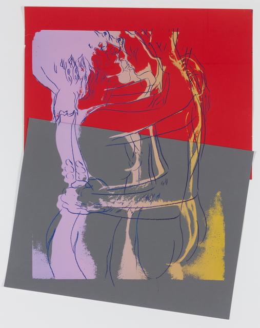 Andy Warhol, 'Love', 1983, Print, Silkscreen and collage, Hindman