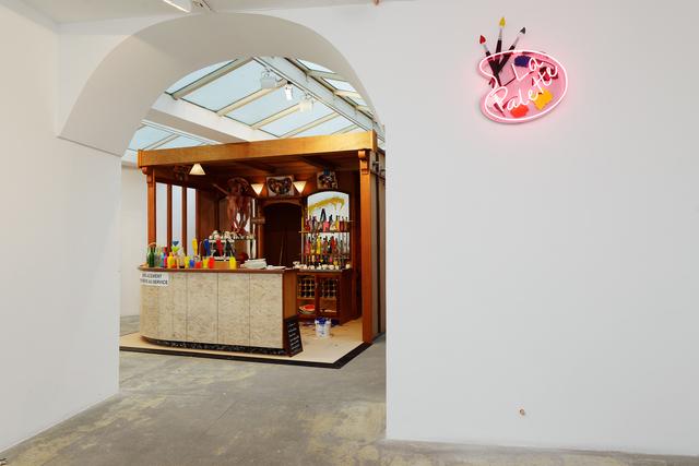 , 'La Palette, La Palette Sign, exhibition view at Gallery GP & N Vallois,' 2017, GALERIE GEORGES-PHILIPPE ET NATHALIE VALLOIS