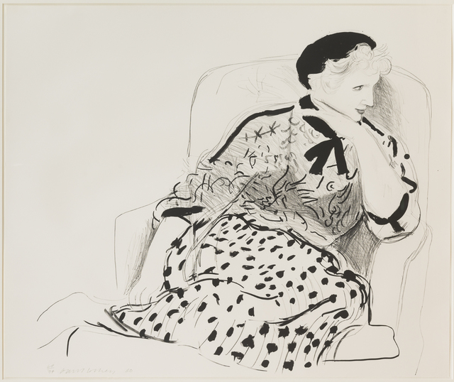 , 'Celia in an Armchair,' 1980, Susan Sheehan Gallery
