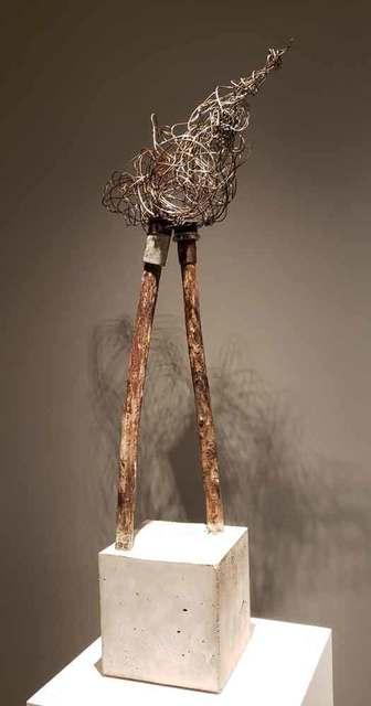 , ' Self from an old work of Joann Coté (Individu issu d'une ancienne œuvre de Joann Coté),' 2019, Galerie Blanche