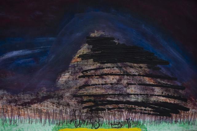 Diego Salvador Ríos, '...las montañas también lloran ó sobre como una montaña nace, crece, se reproduce y muere', Galerie Liusa Wang