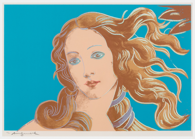 , 'Details of Renaissance paintings (Sandro Botticelli, Birth of Venus, 1482),' 1984, Susan Sheehan Gallery
