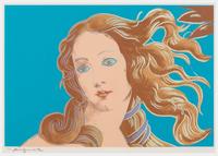 Andy Warhol, Details of Renaissance paintings (Sandro Botticelli, Birth of Venus, 1482)