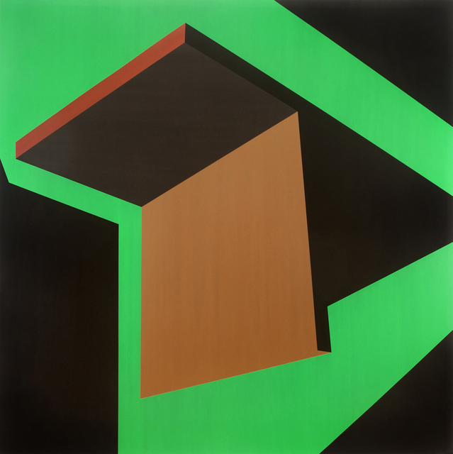 , 'Green Slide,' 2012, Charles Nodrum Gallery