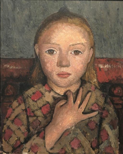 , 'Portrait de Jeune Fille, les Doigts Écartés Devant la Poitrine ,' 1905, Musée d'Art Moderne de la Ville de Paris