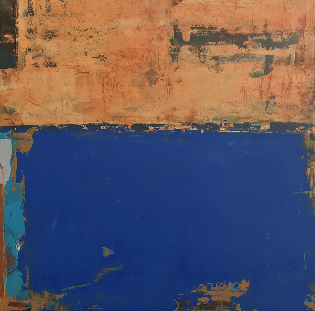 , 'Per Sempre Blu II,' 2018, M.A. Doran Gallery